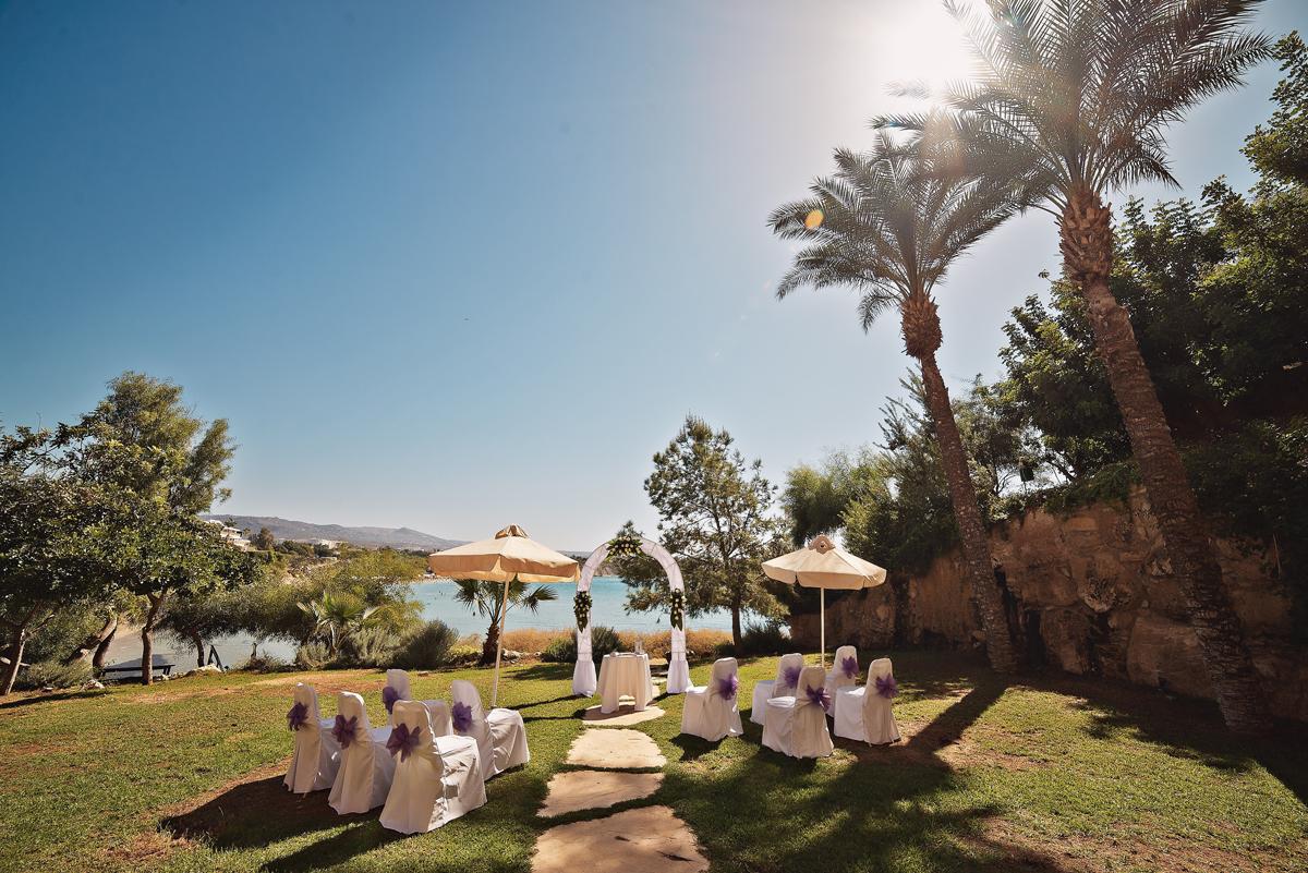Thalassa boutique hotel wedding