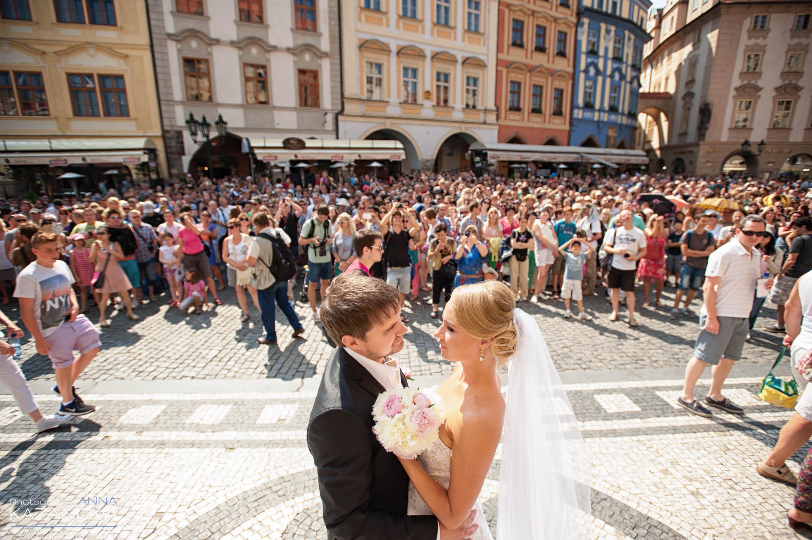 Фото свадьбы в праге ратуша