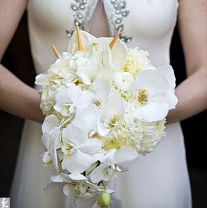 Свадебный букет 2010 десять модных идеи