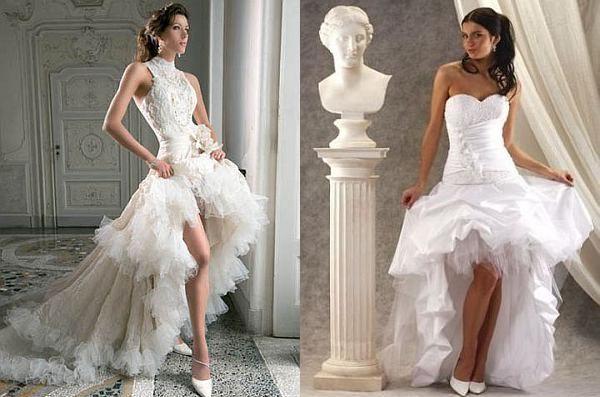 Модели свадебных в для невесты