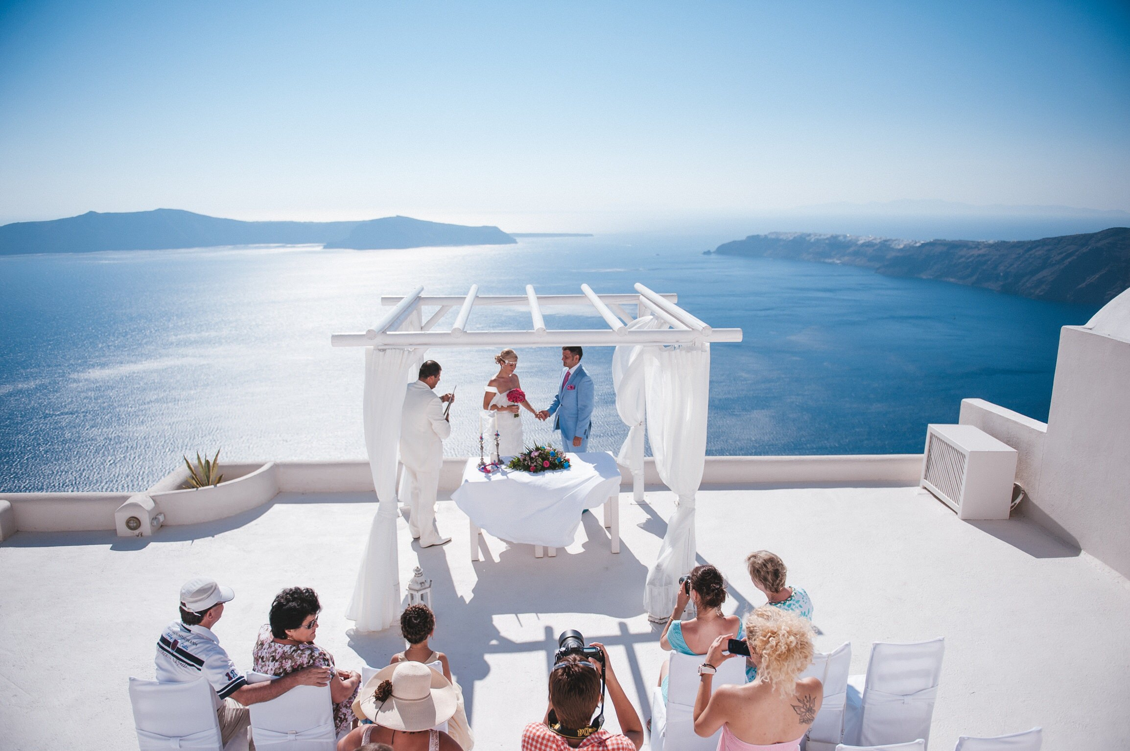 Санторини греция свадьбы