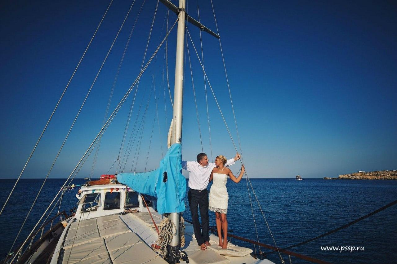 Секс на яхте кипр