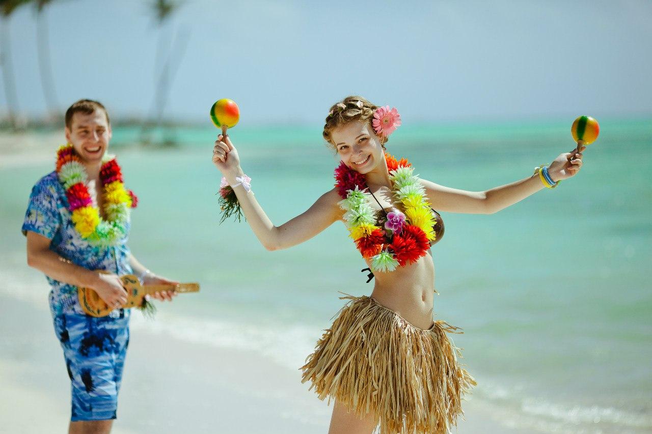 Фото в костюмах на пляже