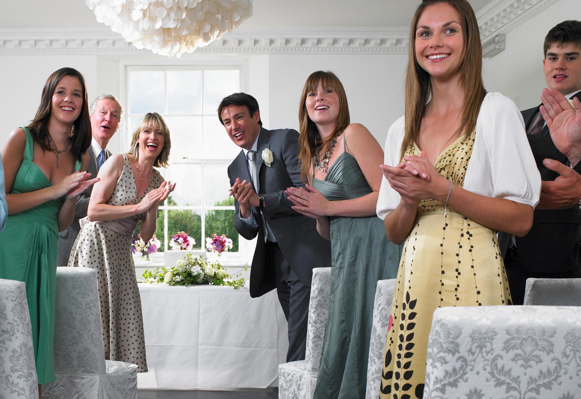 гостей знакомство в начале свадьбы