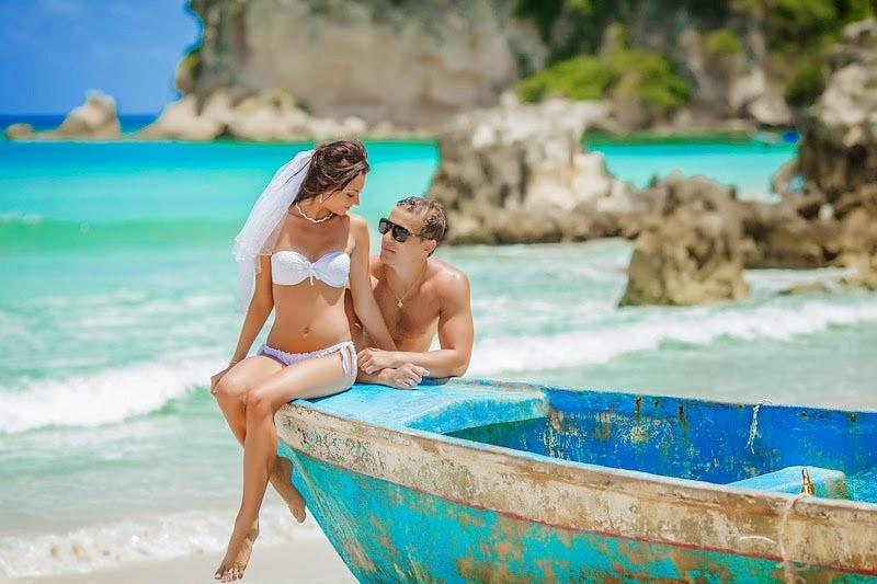 Символическая свадьба в доминикане