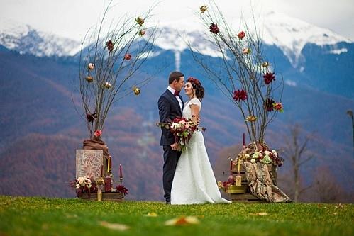 Свадебная церемония в сочи