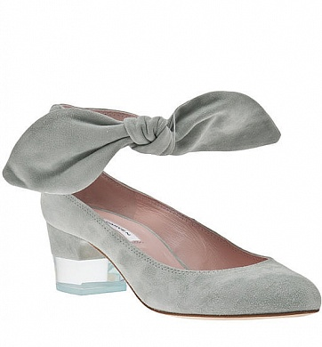 Carven Suede Low-Heel Bow Shoes, цена - $590