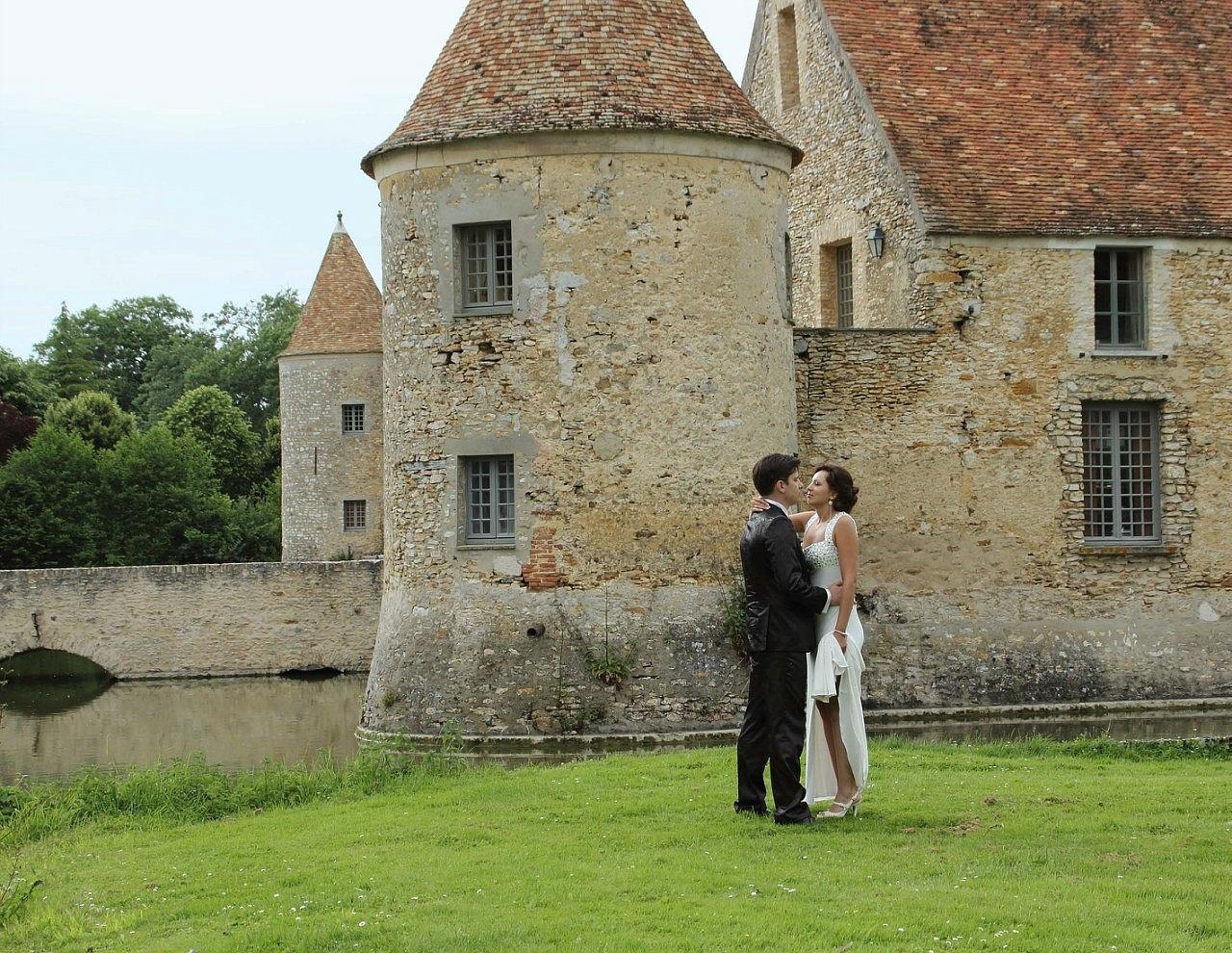 Французский секс в замке