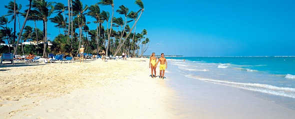 Пляж отеля GRAND PALLADIUM BAVARO RESORT & SPA (5 звезд) Доминикана