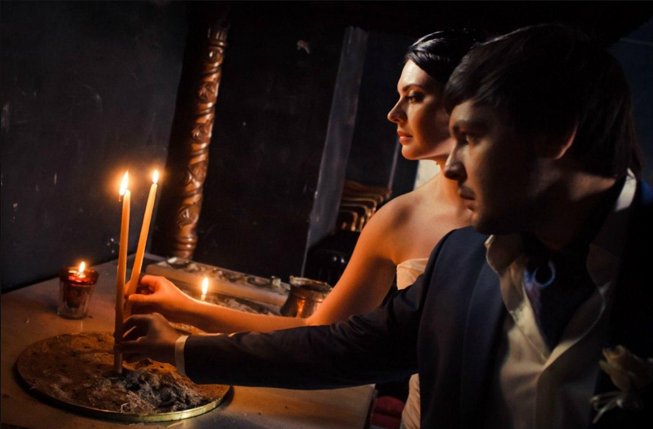 приворот по фото церковные свечи