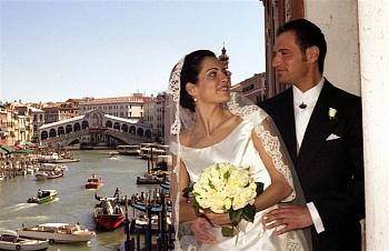 Свадьба в Италии: бракосочетание в Венеции во дворце Палаццо Кавалли