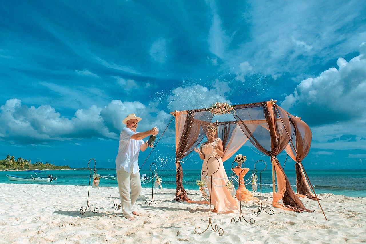 Эксклюзивная церемония бракосочетания в Доминикане